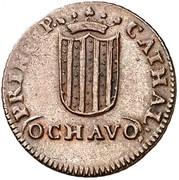 Ochavo – reverse