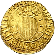 Pacifico - Renato I de Napoles (Barcelona) – reverse