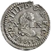 10 Croats - Luis XIV (Barcelona) – obverse