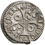 10 Croats - Luis XIV (Barcelona) – reverse