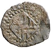 Dinero - Felipe III (Barcelona,shield) – reverse
