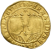 Trentin - Felipe III (two stars) – obverse