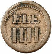 4 Pfennig (ELE) – obverse