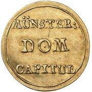 1 Pfennig (Gold Pattern) – obverse