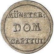 1 Pfennig (Silver Pattern) – obverse