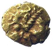 Gold ¼ Stater (Atrebatic B) – obverse