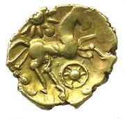 Gold ¼ Stater (Atrebatic B) – reverse