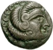 Billon Stater (N.W. Gaul; Class II) – obverse