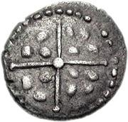 Silver Minim (Atrebatic I; Verica) -  obverse