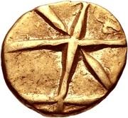 Gold ¼ Stater (Gallo-Belgic B) – obverse