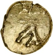 Gold ¼ Stater (Atrebatic C; Commius) – obverse