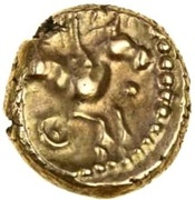 Gold ¼ Stater (Atrebatic H; Eppillus) – reverse