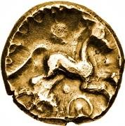 Gold Stater (Trinovantian I; Addedomaros) – reverse
