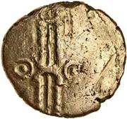Gold ¼ Stater (Trinovantian L; Dubnovellaunus) – obverse