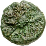 Bronze Unit (Cantian L; Dubnovellaunus) – reverse