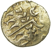 Gold Stater (Durotrigan A) – obverse