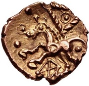 Gold ¼ Stater (Cantian H) – reverse