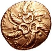 Gold Stater (Trinovantian J; Addedomaros) – obverse