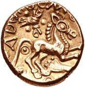Gold Stater (Trinovantian J; Addedomaros) – reverse
