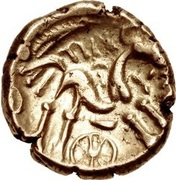 Gold Stater (Atrebatic D; Tincomarus) – reverse