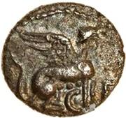 Silver Minim (Atrebatic K; Verica) – obverse