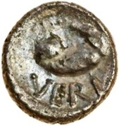 Silver Minim (Atrebatic K; Verica) – reverse