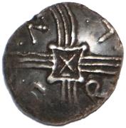Silver Unit (Trinovantian O; Tasciovanus 3rd coinage) – obverse