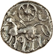 Silver Unit (Atrebatic C; Commius) – reverse