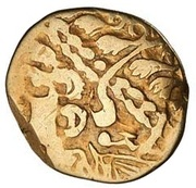 Gold ¼ Stater (Gallo-Belgic A) – obverse
