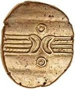 Gold Stater (Trinovantian L; Dubnovellaunus) – obverse