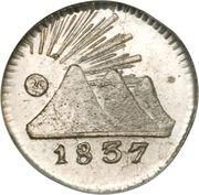 ¼ Real (Guatemala) – obverse