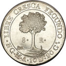 8 Reales (Guatemala) – reverse