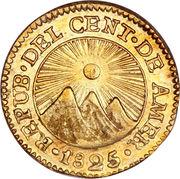 ½ Escudo (Guatemala) – obverse