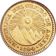 1 Escudo (Guatemala) – obverse
