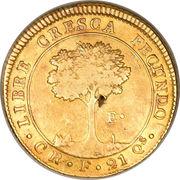 4 Escudos (Costa Rica) – reverse