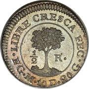 ½ Real (Guatemala) – reverse