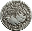 ½ Real (Costa Rica) – obverse