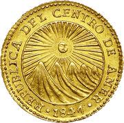 1 Escudo (Costa Rica) – obverse