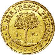 1 Escudo (Costa Rica) – reverse