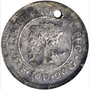 ½ Real (Honduras) – reverse