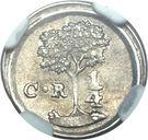 ¼ Real (Costa Rica) – reverse