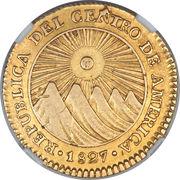 2 Escudos (Guatemala) – obverse
