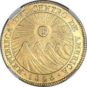 4 Escudos (Guatemala) – obverse