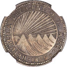 1 Real (Costa Rica) – obverse