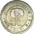 2 Reales (Costa Rica) – reverse