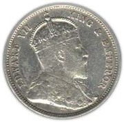 50 Cents - Edward VII – obverse