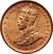 ½ Cent - George V -  obverse