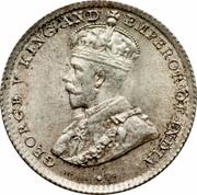 10 Cents - George V – obverse
