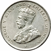 50 Cents - George V – obverse