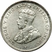 25 Cents - George V -  obverse